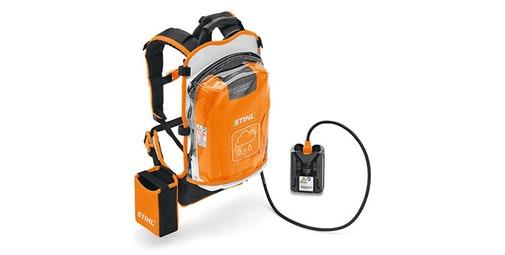 batería de mochila