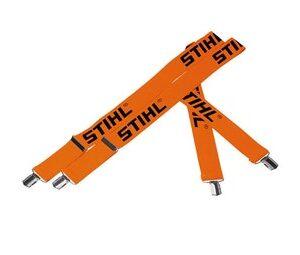 Tirantes elásticos para pantalones - Naranja